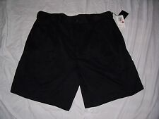 NEW WITH TAGS MEN'S IZOD BLACK GOLF SHORTS SIZE 36