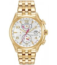 Citizen Eco-Drive Ladies A-T Radio Controlled World Time Watch FC0002-53A