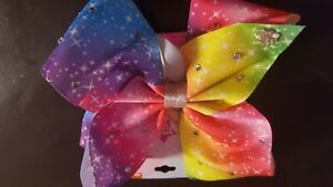 JOJO SIWA Rainbow Bow Nwt
