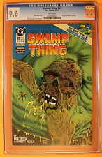 Swamp Thing #67 Constantine HELLBLAZER Pre-1 1987 TV Movie Arrow JLD CGC NM+ 9.6