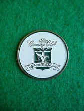 "Woodcreek Farms Country Club Golf Ball Marker 1"" Metal Coin Elgin South Carolina"