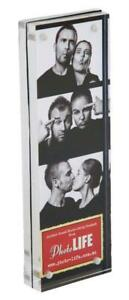 """ACRYLIC MAGNETIC BLOCK FREESTANDING PHOTO FRAME - 2x6"""" 