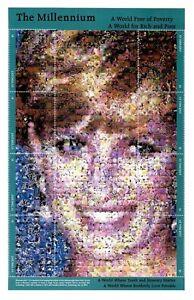 St. Vincent 1999 - SC# 2744 - The Millennium - Diana - Sheet of 8 Stamps - MNH
