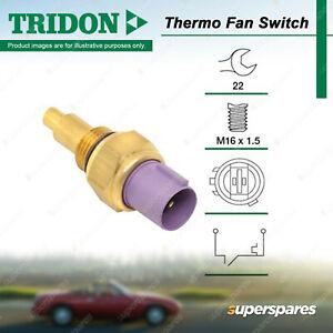 Tridon Thermo Fan Switch for Honda Prelude Prelude Accord Ascot 2.0L 2.2L 2.3L