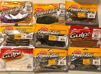 Berkley Powerbait & Gulp! Soft Plastics (You Choose)