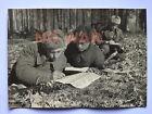 WWII ORIGINAL SOVIET PHOTO PARTISANS W PPSh GUN ISSUE NEWSPAPER 1943
