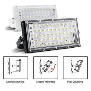 AC 220V 240V Flood Light LED Flood Light LED 5000lm Waterproof Hot 12V B6I4 Gift
