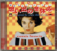 CONNIE FRANCIS I'm Gonna Be Warm This Winter(in Japanese) JAPAN Only CD 1998