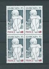 FRANCE - 1976 YT 1876 bloc de 4 - TIMBRES NEUFS** LUXE