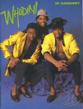 WHODINI 1987 OPEN SESAME TOUR Concert Program Tour Book