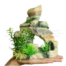 Resin Aquarium Rock Decor Ornament Artificial Rockery Underwater Decorations