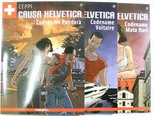 Causa Helvetica # 1 + 2 + 3 komplett ( Comicplus+ Softcover ) Neuwertig