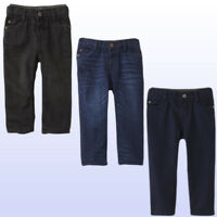 New Toughskins Baby/Toddler Boys' Fleece-Lined Jeans Or Cotton Twill Pants