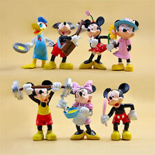 7pcs Mickey Mouse Minnie Donald Disney Figure Clubhouse Toy Doll Cake Topper