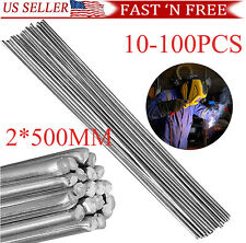 Easy Melt Welding Rods Low Temperature Aluminum Wire Brazing 2mm x 50cm Usa