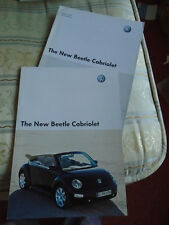 VW Beetle Cabriolet range brochure Jul 2003 European market English text