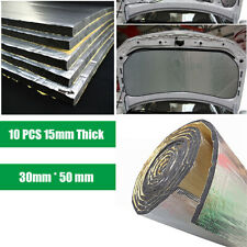 Alumium Shield Noise Deadener Self-adhesive Faom Car Door Hood Floors Universal