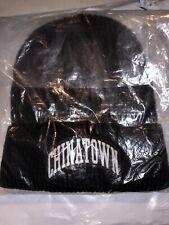 Brand New Chinatown Market 3M Arc Beanie Black Supreme
