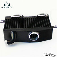 Top Mount Uprated Intercooler For EJ20 Impreza WRX GC8 96-00 VER 3 4 5 6 Black