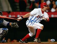 Reggie Willits Signed 8X10 Photo Autograph Anaheim Angels Home Swing Auto COA