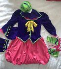 The Mad Hatter California Costume Halloween Tween Size Large 10-12 10 Girls
