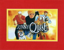 JONNY QUEST READY For ACTION PRINT PROFESSIONALLY MATTED Hanna Barbera