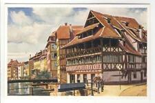 AK Strasbourg, Strassburg, Pflanzbad - Altes Gerberhaus 1940