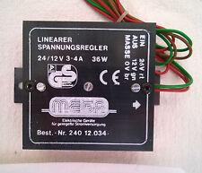 MEGA 240 12.034 Spannungsregler – Voltage DC converter – Spanningsomvorm. 24/12V