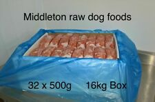 More details for frozen dog food  chicken mince 32x 500g bags 16kg box. barf raw diet delivered