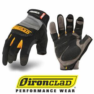 IronClad Framer FUG Fingerless Carpentry General Work Gloves - Select Size