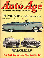 Auto Age January 1956 album of 1956 cars-best cars of 1955-fiat fever