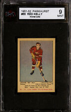 1951-52 PARKHURST #55 RED KELLY KSA 9 MINT CENTERED FULL SIZED BEAUTIFUL ROOKIE