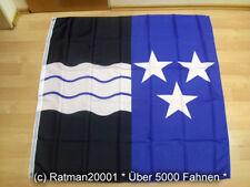 Fahne Flagge Schweiz Aargau - 120 x 120 cm