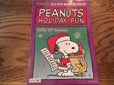 Peanuts Snoopy Santa  Coloring & Activity Book