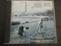 ANDREAS  GROSS  -  STRANGE  VIRTUOSITY  ,  CD   2002 ,  ELECTRONIC  ROCK ,  RARE