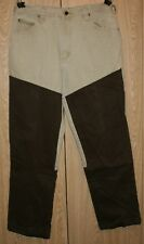 Remington Heavy Duty Faced Denim Field Beushgard Hunting Tan and Brown Pants