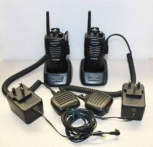 Kenwood Protalk Two Way Licence Free Radios x 2