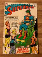 Superman #223 (DC 1970) Supergirl Appearance~Clark Kent~Curt Swan Art~Silver Age