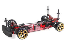 RC Blaze DFR 1/10 Scale Drift Chassis with Unpainted Body shell (Red)