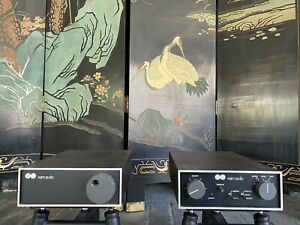 Naim Nac 32 And Nap 90 Preamplifier And Amplifier Chrome Bumper