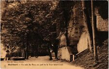 CPA  Montbard - Un coin du Parc, au pied de la Tour Saint-Louis  (586465)