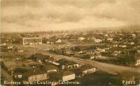 Birdseye View Coalinga California Mitchell # P2952 C-1910 Postcard 20-4073