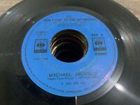 "Michael Jackson 45 rpm Philippines 7"" dont stop till you get enough"