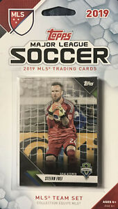 Seattle Sounders FC 2019 Topps MLS Factory Sealed 8 Card Team Set  Bruin Frei