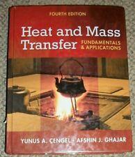 Heat and Mass Transfer Fundamentals Cengal & Gharjar 4th edition HC Book