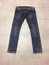 Jeans Uomo Originali Philipp Plein Jesse James Blu taglia 34