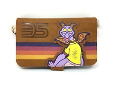 Disney Parks Epcot 35th Anniversary Figment Wristlet Wallet Wdw (New With Tags)