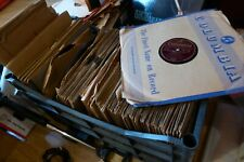 More details for stock of gramophone records 78 rpm shellac over 500 plus loft discovery