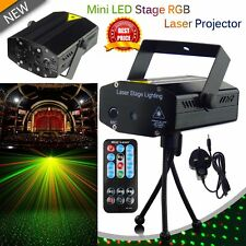 LED Stage Lighting Mini R&B Laser Projector Disco Party Club DJ Light UK Stock