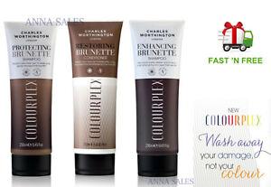 Charles Worthington COLOURPLEX Brunette Shampoos & Conditioner Choose Your One